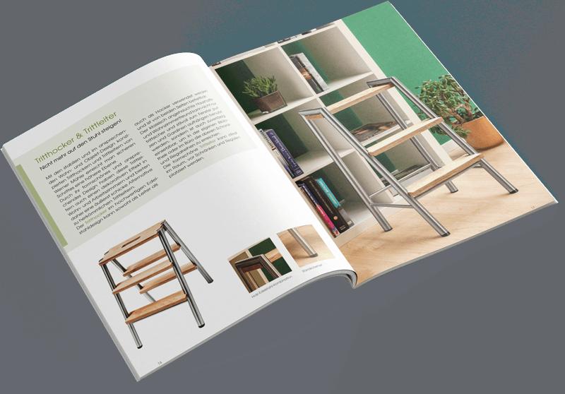 Print - Produkt Broschüre - Kamil Kascha Design